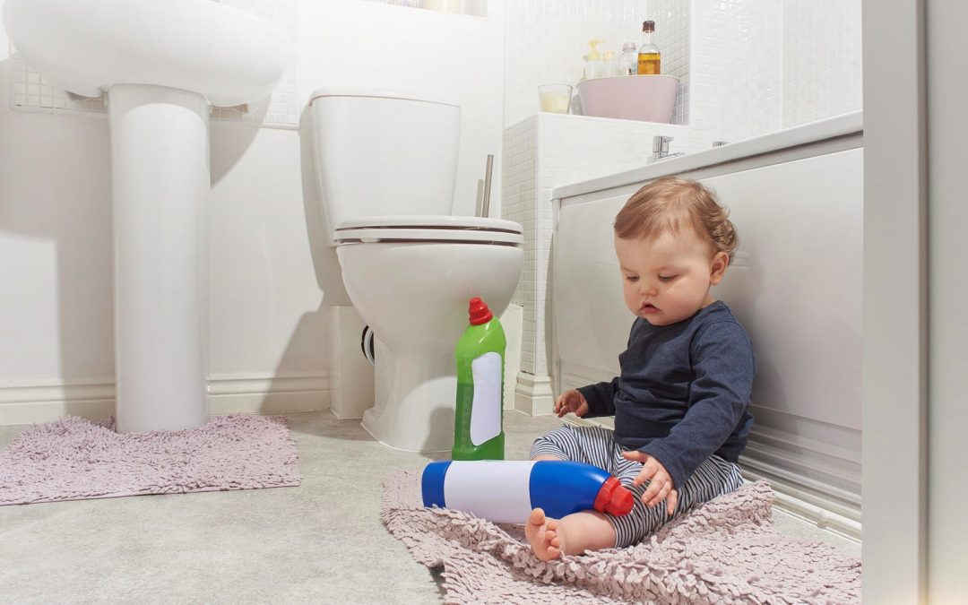 Study Reveals Toddlers to Be Most at Risk for Chemical Eye Burns