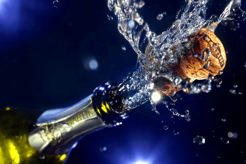 How to Safely Open a Bottle of Champagne
